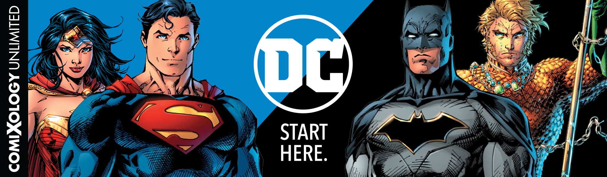 Press release: DC joins comiXology Unlimited, Kindle